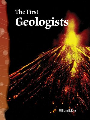 cover image of The First Geologists