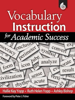 cover image of Vocabulary Instruction for Academic Success