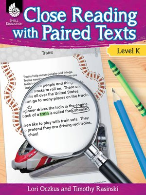 cover image of Close Reading with Paired Texts Level K: Engaging Lessons to Improve Comprehension