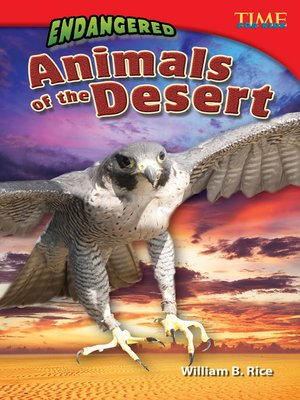 cover image of Endangered Animals of the Desert