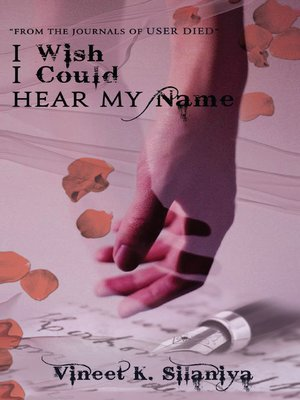 cover image of I Wish I Could Hear My Name