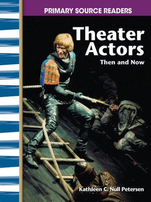 cover image of Theater Actors Then and Now