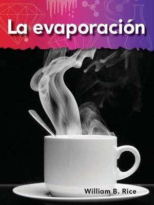 cover image of La evaporación