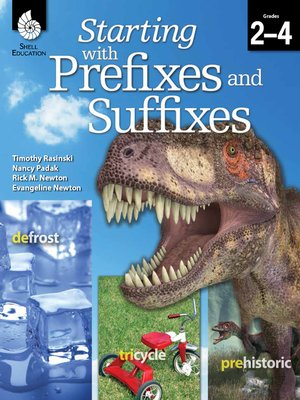 cover image of Starting with Prefixes and Suffixes