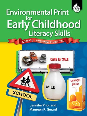 cover image of Environmental Print for Early Childhood Literacy