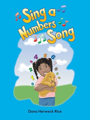 cover image of Sing a Numbers Song