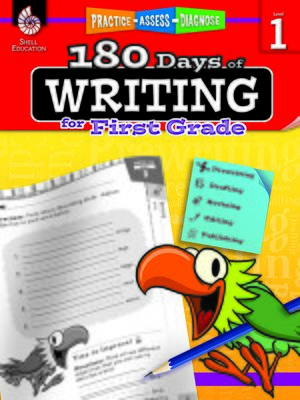cover image of 180 Days of Writing for First Grade: Practice, Assess, Diagnose