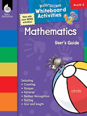 cover image of Interactive Whiteboard Activities: Mathematics