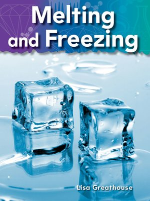cover image of Melting and Freezing