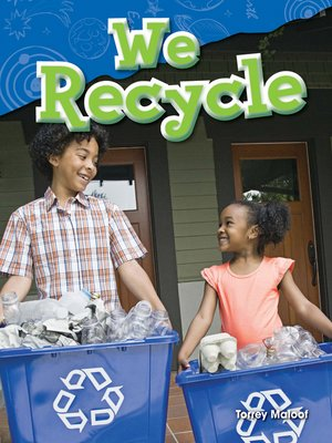 cover image of We Recycle