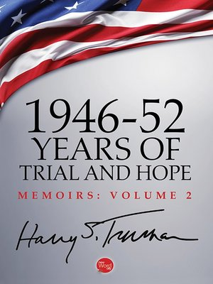 cover image of 1946-52: Years of Trial and Hope