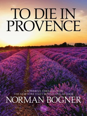 cover image of To Die In Provence