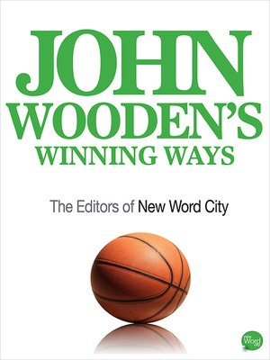 cover image of John Wooden's Winning Ways