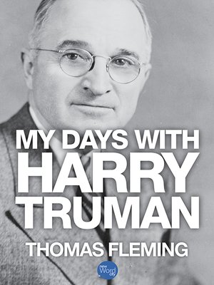 cover image of My Days with Harry Truman