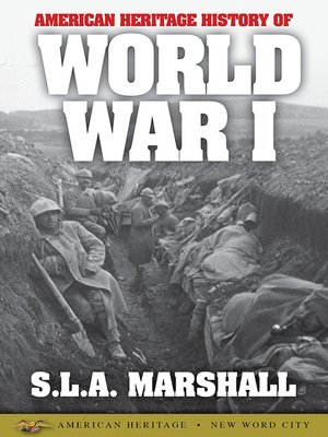 cover image of American Heritage History of World War I