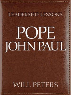 cover image of Pope John Paul II