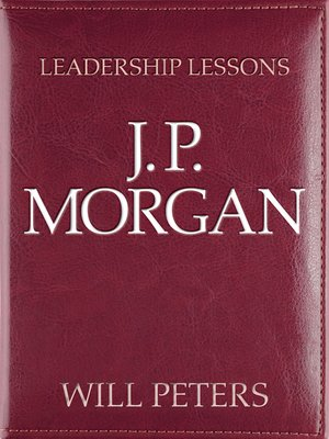cover image of J. P. Morgan
