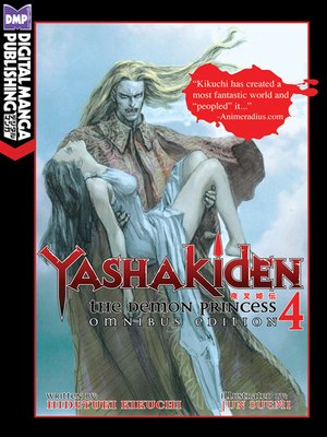 cover image of Yashakiden: The Demon Princess, Volume 4 Omnibus Edition