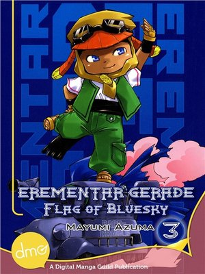 cover image of Erementar Gerade: Flag of Bluesky, Volume 3