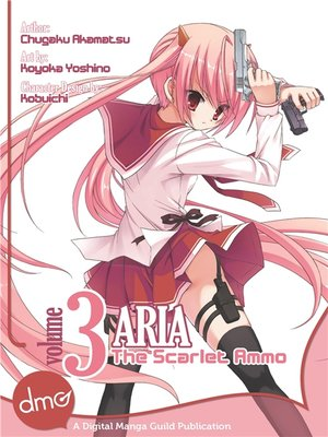 cover image of Aria the Scarlet Ammo (manga), Volume 3