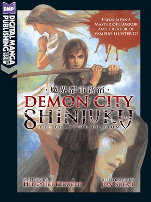 cover image of Demon City Shinjuku: The Complete Edition
