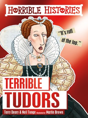 cover image of Terrible Tudors