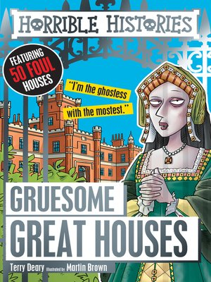 cover image of Gruesome Great Houses