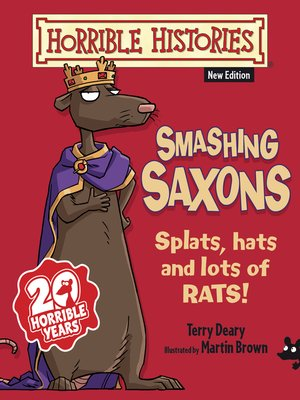 cover image of Horrible Histories: Smashing Saxons