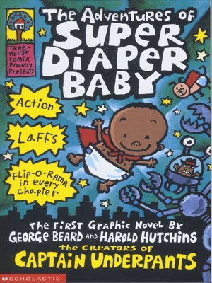 cover image of The Adventures of Super Diaper Baby
