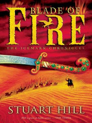 cover image of Blade of Fire