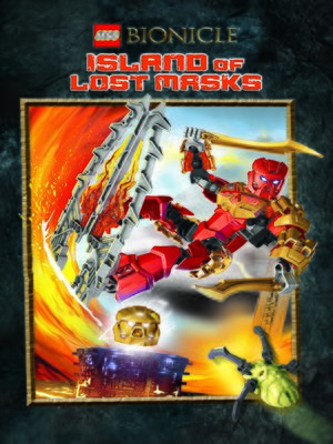 cover image of Island of Lost Masks
