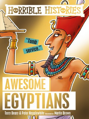 cover image of The Awesome Egyptians