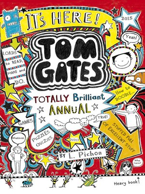 cover image of The Brilliant World of Tom Gates Annual