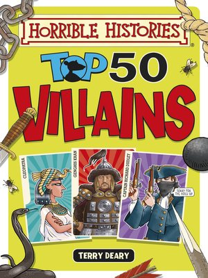cover image of Top 50 Villains
