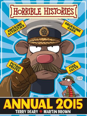 cover image of Horrible Histories Annual 2014