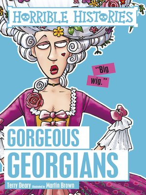 cover image of The Gorgeous Georgians