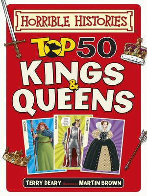 cover image of Top 50 Kings and Queens