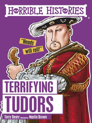 cover image of Terrifying Tudors