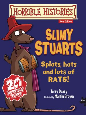 cover image of Horrible Histories: Slimy Stuarts