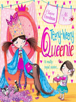 cover image of Teeny-weeny Queenie