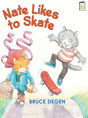 cover image of Nate Likes to Skate