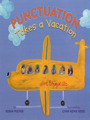 cover image of Punctuation Takes a Vacation