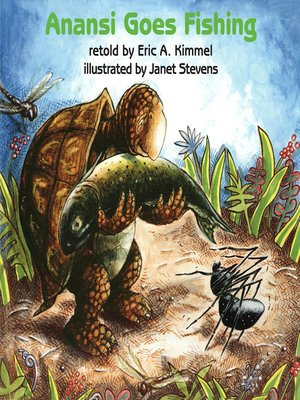 cover image of Anansi Goes Fishing