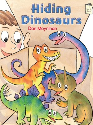 cover image of Hiding Dinosaurs