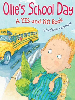 cover image of Ollie's School Day