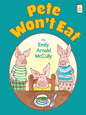 cover image of Pete Won't Eat