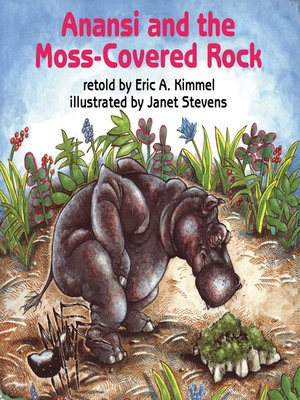 cover image of Anansi and the Moss-Covered Rock