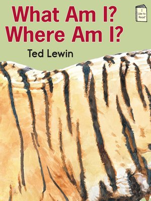 cover image of What Am I? Where Am I?