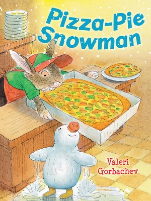 cover image of Pizza-Pie Snowman