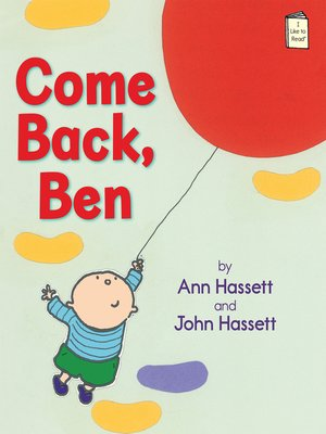 cover image of Come Back, Ben